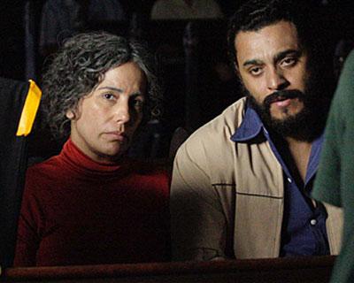 Cena - Filme - Lula o filho do Brasil - Glória Pires e Rui Ricardo Diaz - Ela esta fabulosa neste filme
